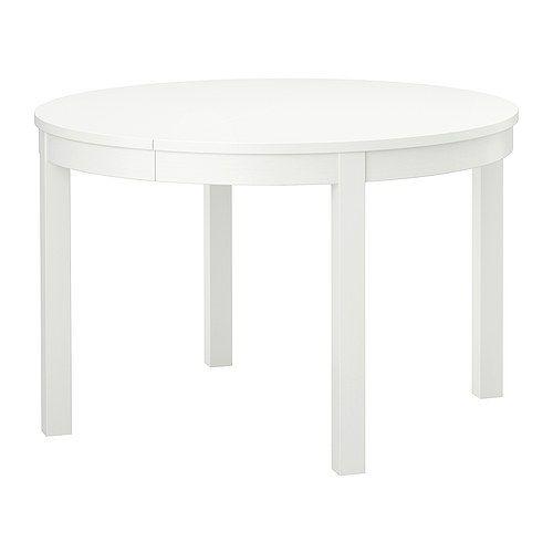 BJURSTA Rozkladací stôl IKEA Jedálenský stôl s 1 výsuvnou doskou pre 4-6 osôb; veľkosť stola môžete prispôsobiť aktuálnym potrebám.