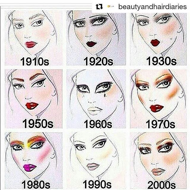 From Instagrammer: @beautyandhairdiaries  I'm with 1950's How about you?? For more......... follow me on Instagram xx
