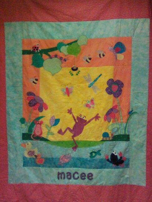 Macee's quilt.