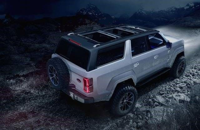 2020 Ford Bronco 4 Door Rendering Ford Bronco Ford Suv Ford Bronco Concept