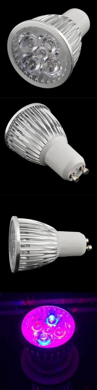 Indoor Lights | GU10 10W 5 LED Plant Grow Light Hydroponics Lighting