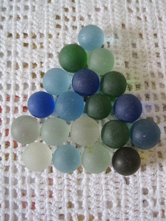 Vintage 19 billes givrées / Vintage 19 crazy balls