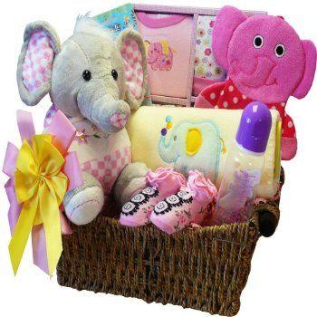 63 best elephant theme party images on pinterest elephant theme art of appreciation gift baskets ellie the elephant new baby gift basket girl negle Images