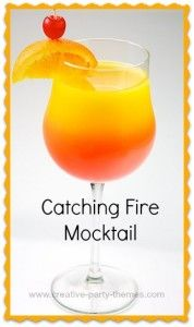 Catching Fire Mocktail (Halloween Games Catching Fire)
