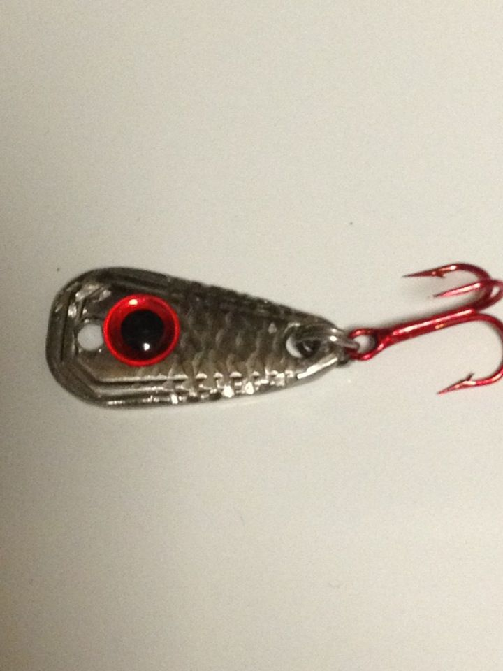 My first homemade fishing lure!