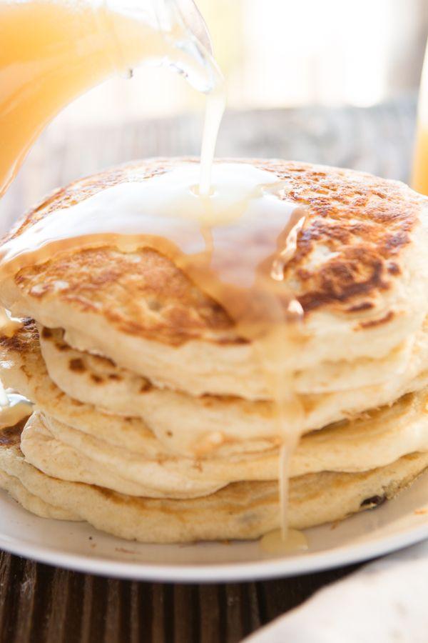 Pancakes ohsweetbasil.com
