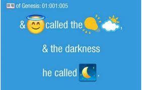 biblia em emojis
