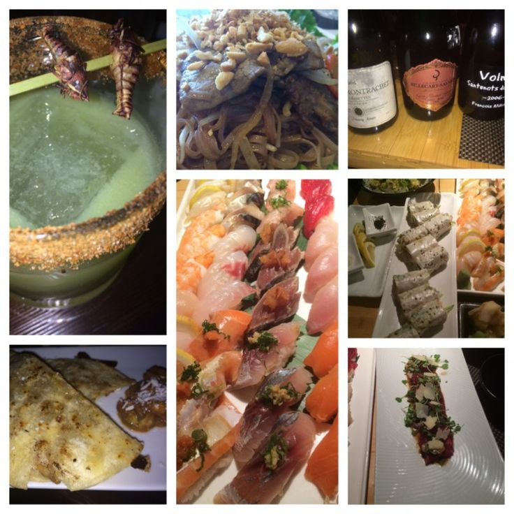 Indochine, Sushi Roku, Tacoteca: 2 lunches, snacks & drinks  #cocktails #japanesefood #mexicanfood