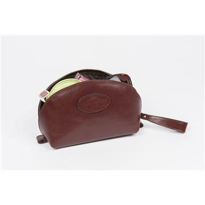 Ladies leather makeup bag - Mother's Day gifts from Fur Feather and Fin