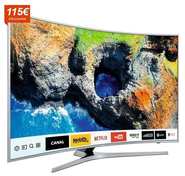 SAMSUNG UE55MU6505 TV LED Incurvée UHD 138cm