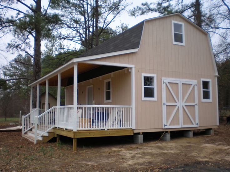 25 best ideas about shed homes on pinterest shed houses for Metal cabin kits