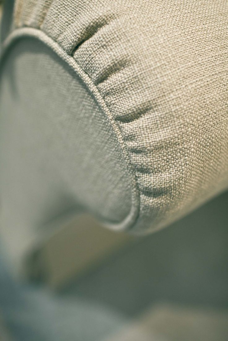 The natural materials of the sofa SOFT