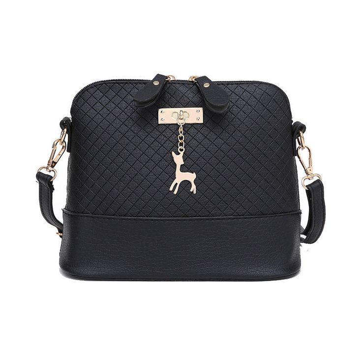 2017 Women Messenger Bag Fashion Mini Bag With Deer Toy Shell Shape Bag Women Shoulder Bag by Argyrostore on Etsy