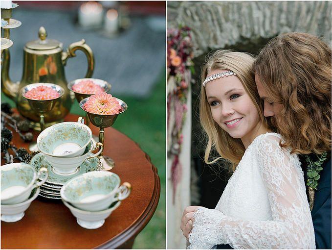 Norwegian Wedding Magazine | Scandinavian Style Workshop by Frøydis Geithus Photography #dekkmittbord #bryllup #borddekking #vintage