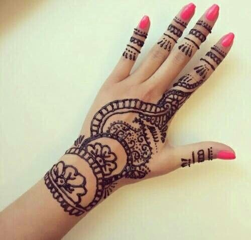 Mehndi Patterns We Heart It : Best images about wanted will buy looking for on