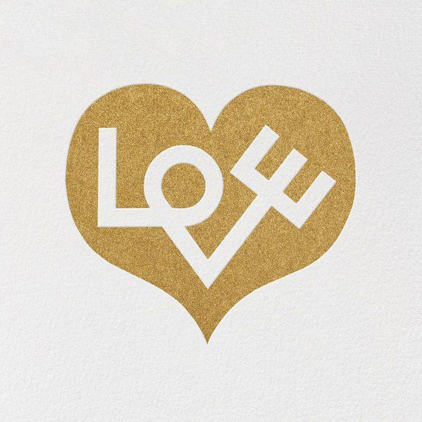 Heart of Love Card by Alexander Girard   Paperless Post