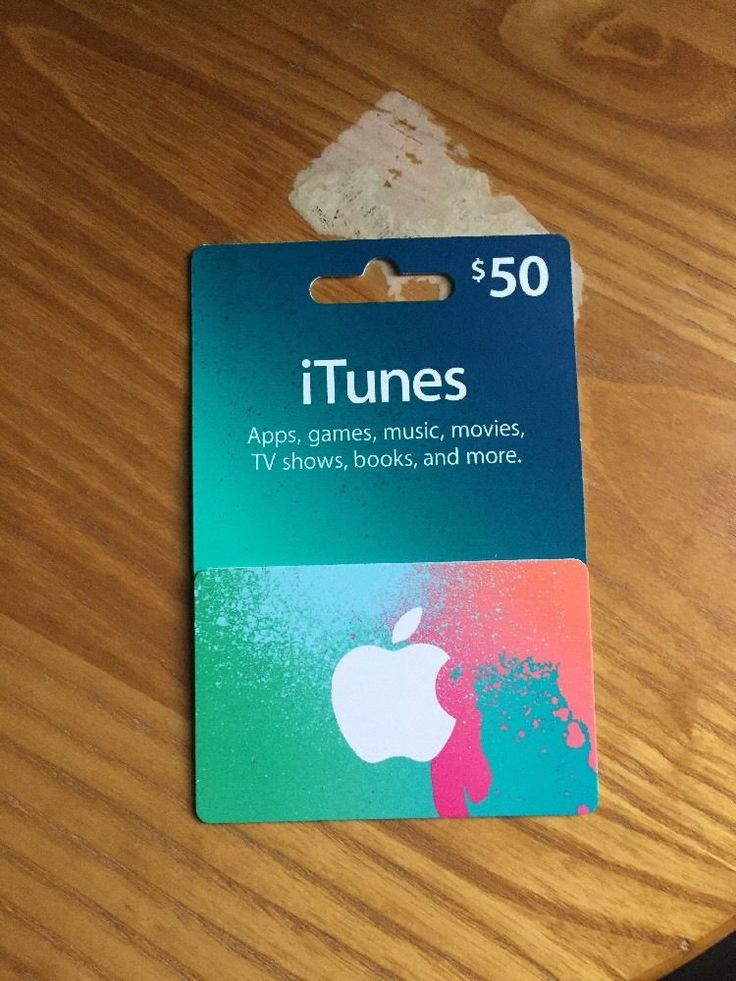 $50 iTunes Gift Card Please Read Item Description | eBay