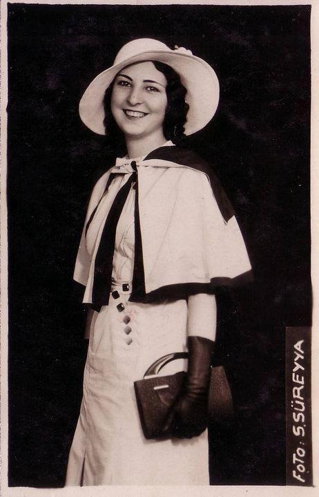 1932 Dünya Güzeli KERİMAN HALİS ECE.