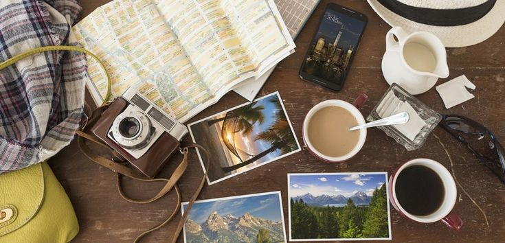 Use these five apps to help organize and plan your next big travel adventure.