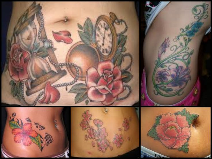 Does Tattoos Cover Stretch Marks | Stretch Marks Tattoo Mark Cover Ups