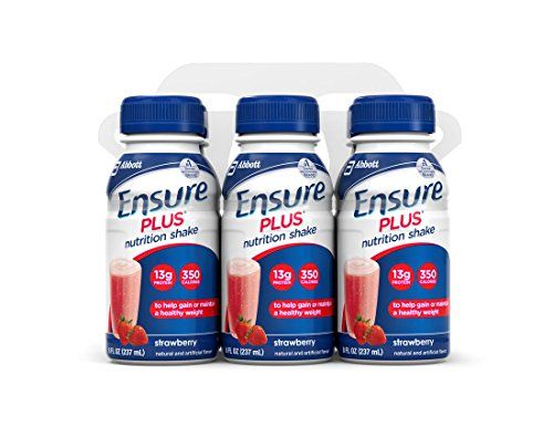 Ensure Plus Nutrition Shake, Strawberry, 8-Ounce Bottle, 6 Count (Pack of 4) *** You can get more details at http://www.amazon.com/gp/product/B000ARPK7G/?tag=lizloveshoes-20&pno=300716032318
