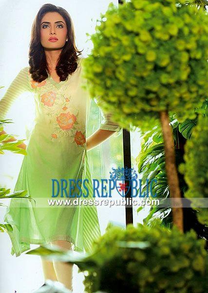 Sana Samia Designer Cotton Suits in UK by Lala Textile   by www.dressrepublic.com