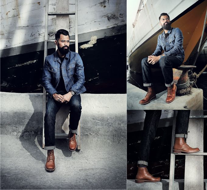 Johan Malik in Raider series collection from Heimdall Footwear.