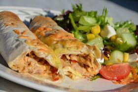 Gott Och Blandat: Italienska kycklingenchiladas