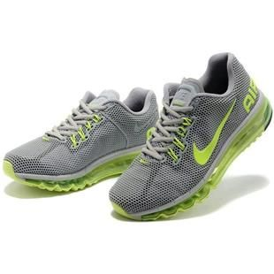http://www.asneakers4u.com/ Cheap nike air max 2013 mens trainers grey green Sale Price: $69.30