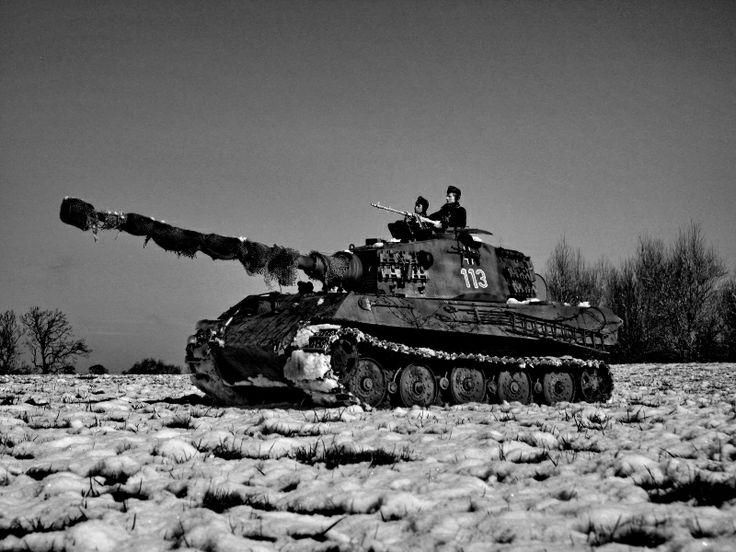 King tiger tank - photo#11