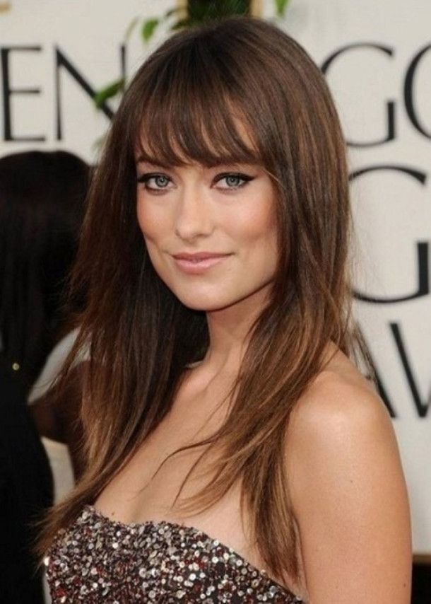 Womens Hairstyles With Bangs 97 Best My Style Images On Pinterest  Hair Cut Make Up Looks And