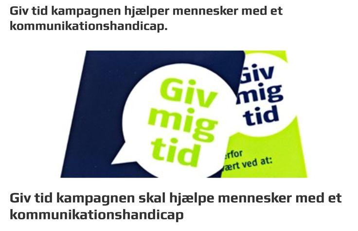 Fordi vi er Hjerneskadet, betyder det ikke at vi er dumme. Hjælp os ved at give os tid. Se mere på www.hjernesagen.dk