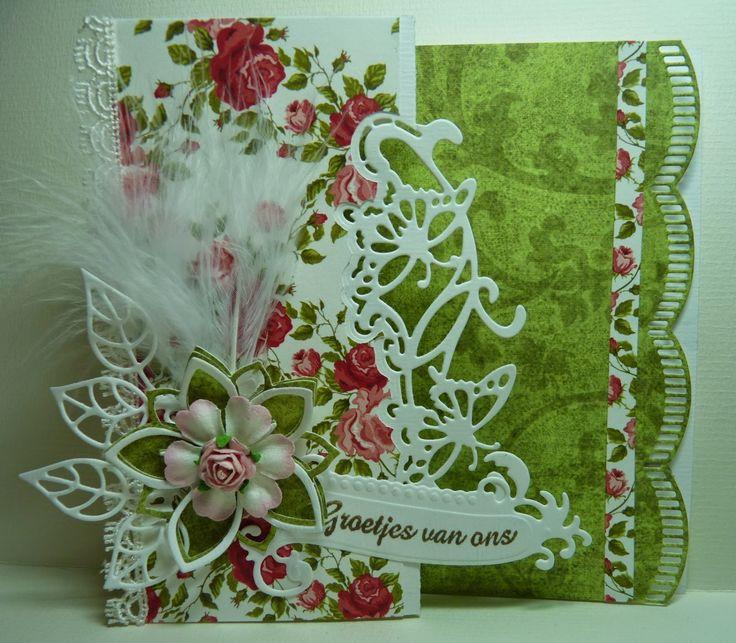 Anja Design: Groetjes van ons...