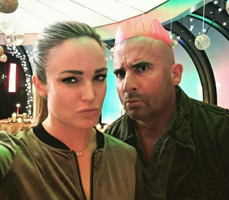 "Caity Lotz: ""We take holidays serious af"" #DominicPurcell"