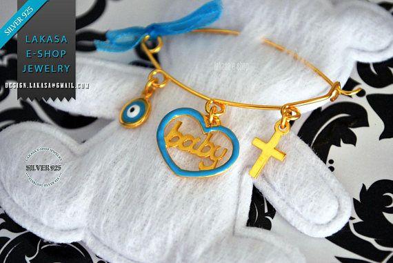Blue Enamel Heart Baby Brooch Sterling Silver Gold Handmade #baby #boy #enamel #brooch #silver #jewelry #motherday #name #personalised #joyas #mujer #woman #moda #jewellery #γυναικα #μωρο #νεογεννητο #δωρο #παραμανα #καρφιτσα #αγορι Ασημενια Καρφιτσα Παραμανα Μωρου Βαφτιση Μαμα Νονα Νονος Μπαμπας