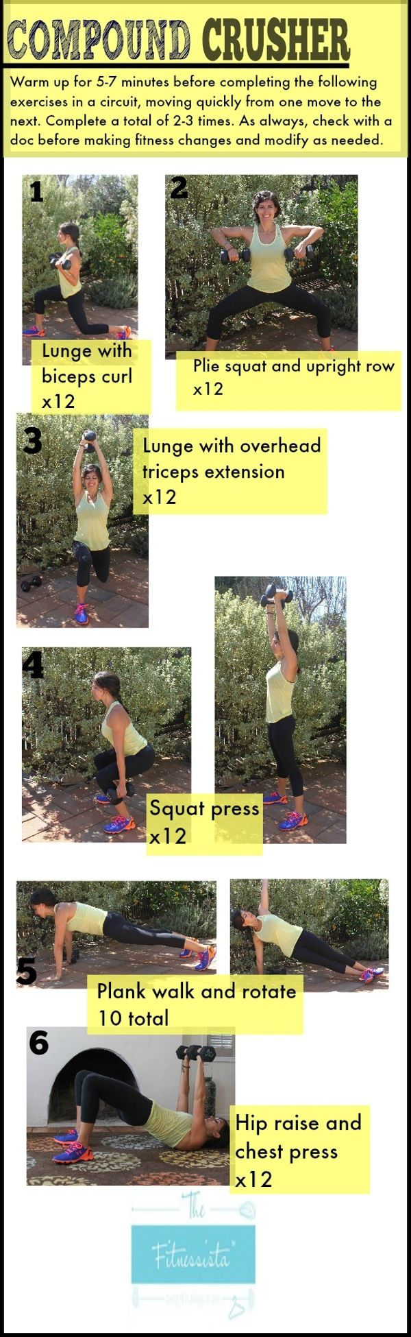Compound crusher workout