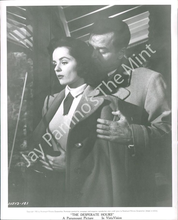 The Desperate Hours (1955) Gig Young and Mary Murphy
