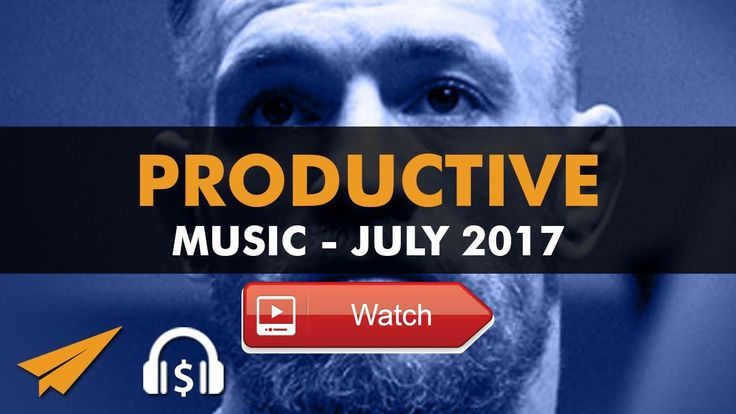 Productive Music Playlist 1 hrs July 17 Here is some of Conor McGregor's best advice to stay productive There's no talent here this is hard work This is an