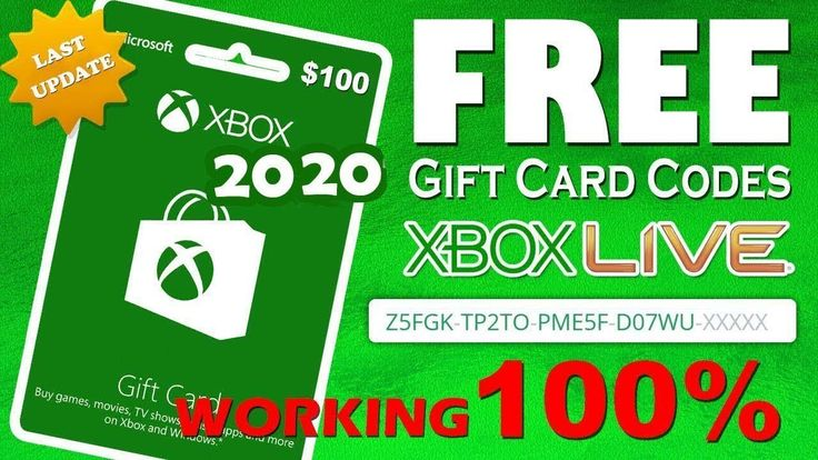 Get free 100 xbox gift card code 2020how to get free
