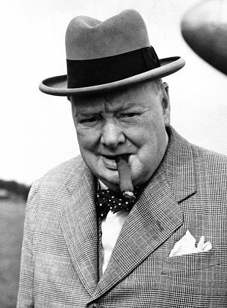 U.K. Sir Winston Churchill 1874-1965.  Studholme Lodge. British Prime Minister
