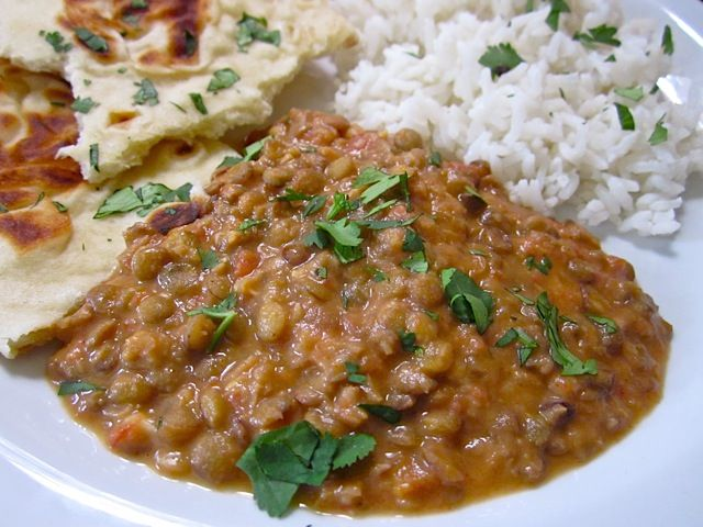 Dal Nirvana, to eat with th naan bread