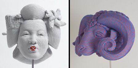rope art, Beautiful sculptures created by talented Brazilian sculptor Mozart Guerra.