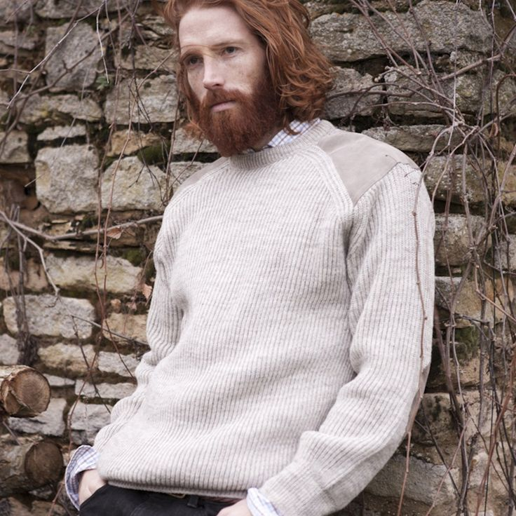 Mens Country Jumper Naural from Peregrine Clothing