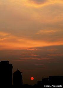 Subfusc sunset - Ajaytao