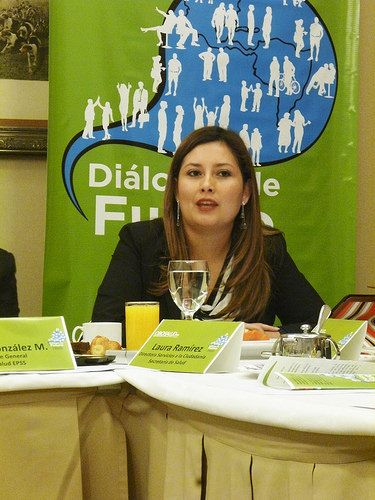 Laura Ramirez, Directora Servicios a la Ciudadanía, de la Secretaría de Salud de Bogotá.