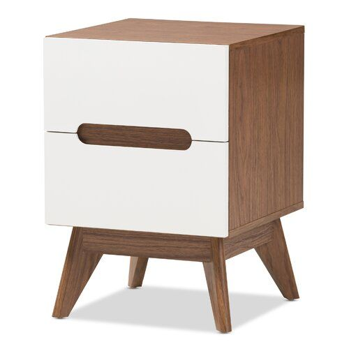 Gavin Wood 2 Drawer Nightstand Nightstand Storage Storage Drawers 2 Drawer Nightstand