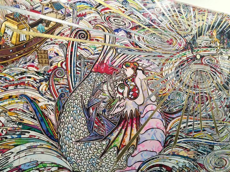 Takashi Murakami, Gagosian, Gagosian Gallery, art, NYC, Japanese artists, contemporary art, Mr. DOB, exhibition, sculpture, paintings