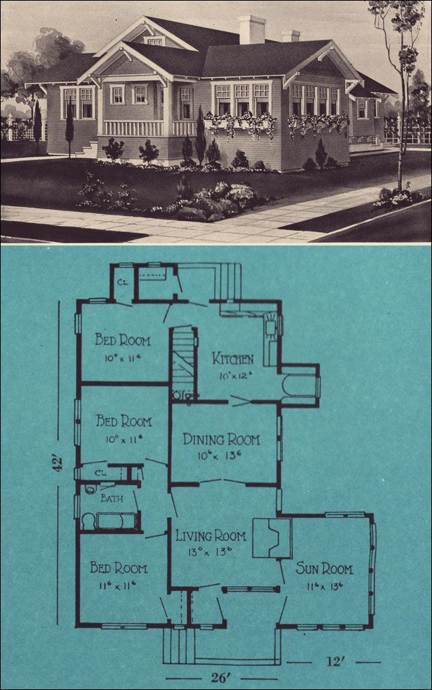 The mt baker homes from forest to you 1924 by stetson for Stetson homes floor plans