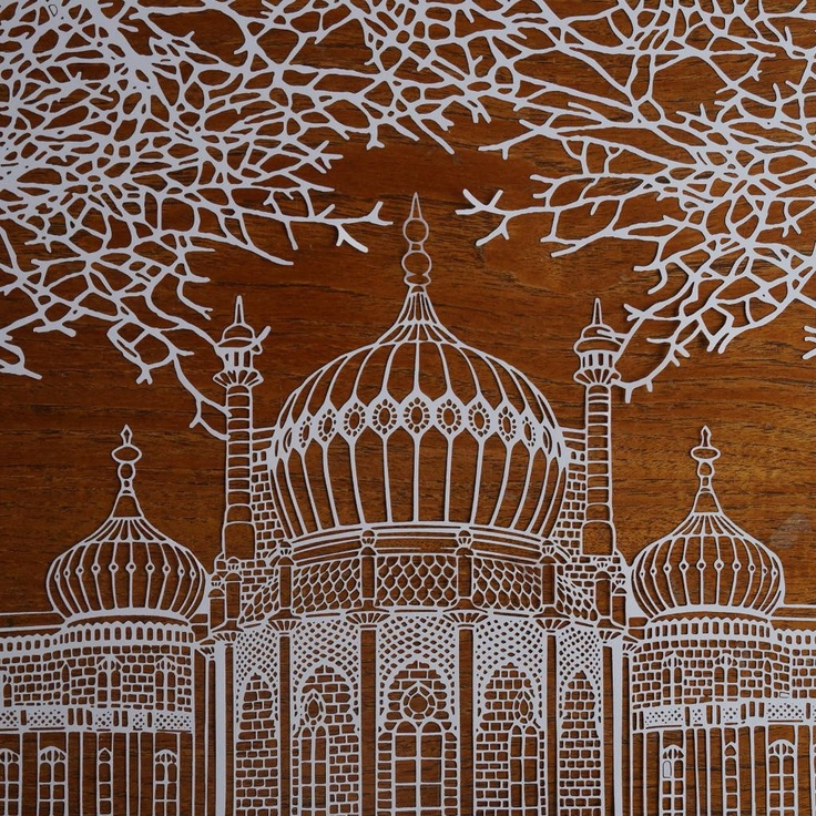 Brighton Pavilion : Signed & Numbered Laser Cuts