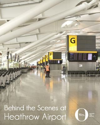 I really enjoyed my behind the scenes day at London Heathrow Airport. I felt I could come back the next day and be taken around some more - it was really fascinating!